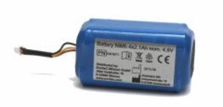 újratölthető akkumulátor az Alcoquant 6020 alkoholszondához